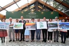 大澳文物酒店特別與香港郵政合作,推出5周年誌慶首日封系列,蒐集香港及海外藝術家筆下的大澳風情